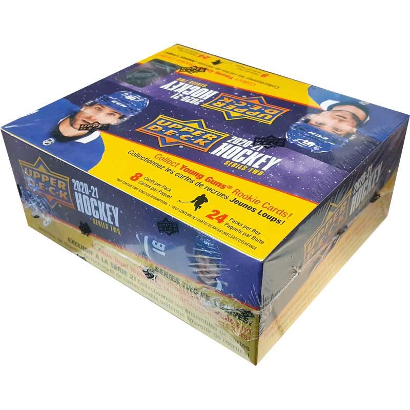 Hel Box 2020-21 Upper Deck Series 2 Retail [Max 6 per hushåll]