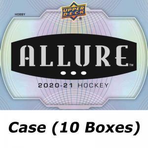 Hel Case (10 Boxar) 2020-21 Upper Deck Allure Hobby [95050]