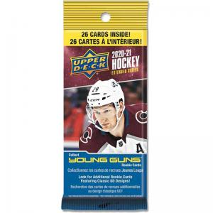 1st Fat Pack 2020-21 Upper Deck Extended Series Fat Pack Retail