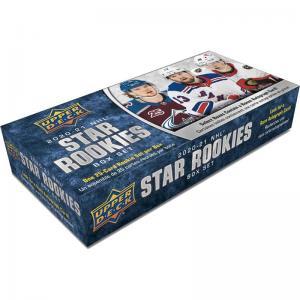 Hel Box 2020-21 Upper Deck NHL Star Rookies Box Set
