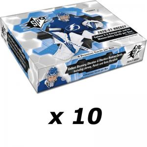 Hel Case (10 Boxar) 2020-21 Upper Deck SPX Hobby