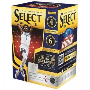 Sealed Blaster Box 2020-21 Panini Select Basketball
