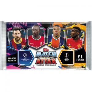 1st Paket 2020-21 Topps Match Attax (Champions League & Europa League)