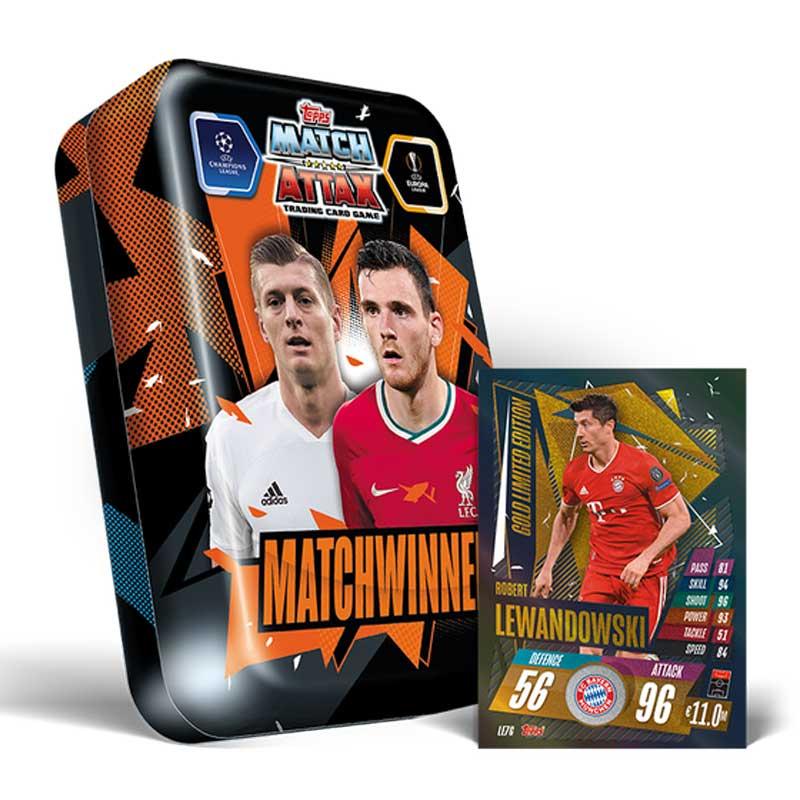Mega Tin - Matchwinners - 2020-21 Topps Match Attax (Champions League & Europa League)