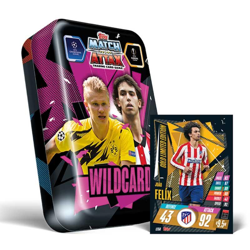Mega Tin - Wildcards - 2020-21 Topps Match Attax (Champions League & Europa League)