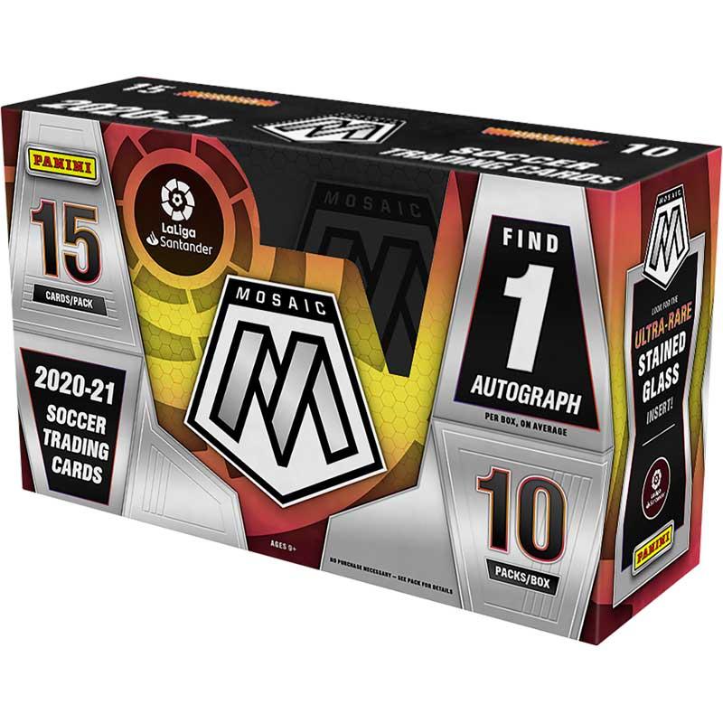 Hel Box 2020-21 Panini La Liga Soccer Hobby