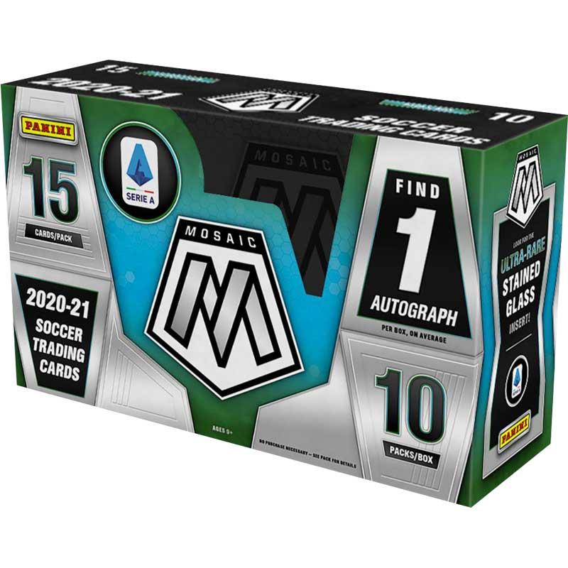 Hel Box 2020-21 Panini Mosaic Serie A Soccer Hobby