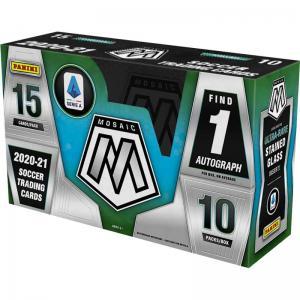 Sealed Box 2020-21 Panini Mosaic Serie A Soccer Hobby