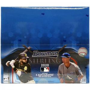 Hel Box 2020 Bowman Sterling Baseball Hobby