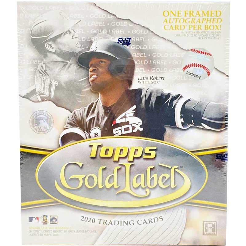 Hel Box 2020 Topps Gold Label Baseball Hobby