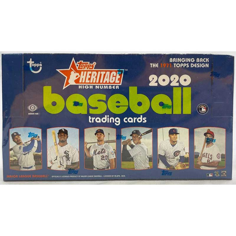 Hel Box 2020 Topps Heritage High Number Baseball Hobby