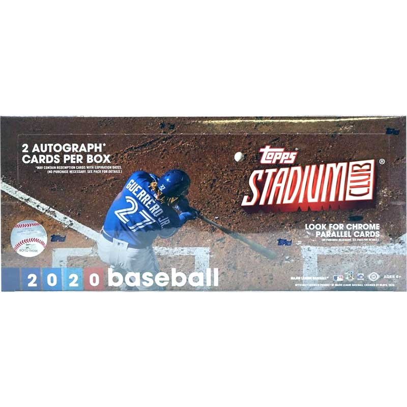 Hel Box 2020 Topps Stadium Club Baseball Hobby