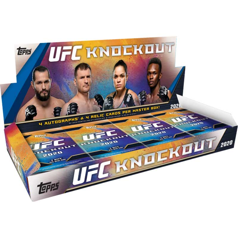 Hel Box 2020 Topps UFC Knockout Hobby