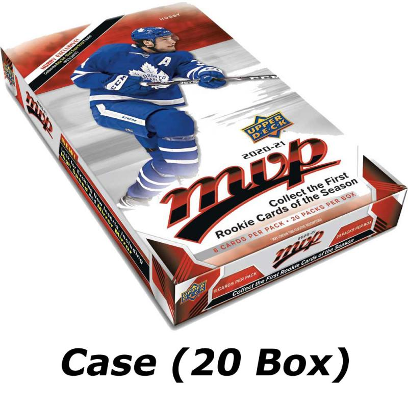 Hel Case (20 Box) 2020-21 Upper Deck MVP Hobby [94851]