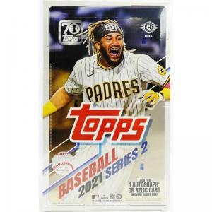 Sealed Box 2021 Topps Series 2 Baseball Hobby