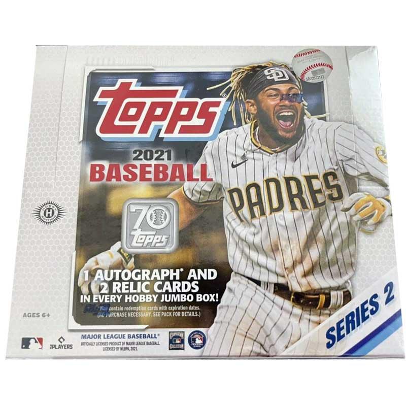 Hel Box 2021 Topps Series 2 Baseball Hobby Jumbo