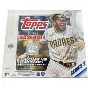Sealed Box 2021 Topps Series 2 Baseball Hobby Jumbo