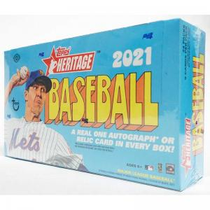 Hel Box 2021 Topps Heritage Baseball Hobby