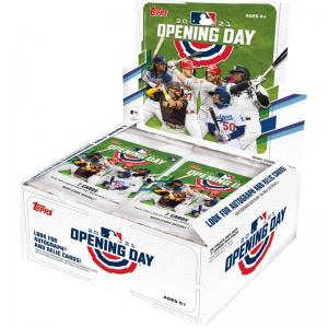 Hel Box 2021 Topps Opening Day Baseball