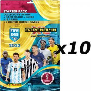 10st Starter Pack Panini Adrenalyn XL FIFA 365 2021-22