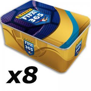 8st Mega Tin Panini Adrenalyn XL FIFA 365 2021-22