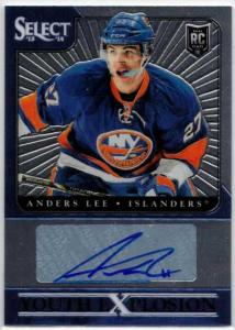 Anders Lee - 2013-14 Select Youth Explosion Autographs #YEAL