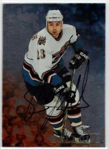 Brian Bellows - 1998-99 Be A Player Autographs