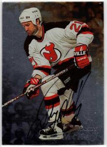 Randy McKay - 1998-99 Be A Player Autographs