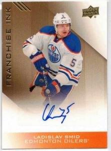 Ladislav Smid - 2013-14 Upper Deck Edmonton Oilers Franchise Ink #FILS
