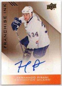 Fernando Pisani - 2013-14 Upper Deck Edmonton Oilers Franchise Ink #FIFP