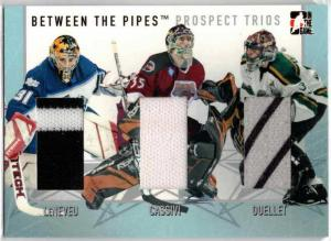David LeNeveu / Frederic Cassivi / Maxime Ouellet - 2006-07 Between The Pipes Prospect Trios #PT20