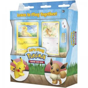 Pokémon, Let's Play TCG Theme Decks (Pikachu + Eevee) - Start playing for 2 players