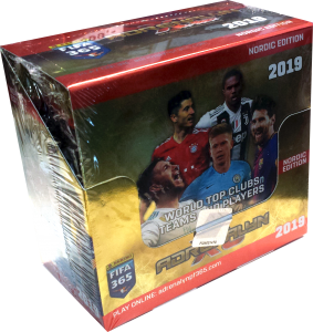 1 Box (50 Packs) Nordic Edition Panini Adrenalyn XL FIFA 365 2018-19