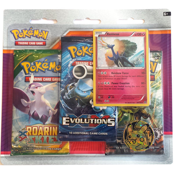 Pokémon, Three pack blister: Xerneas