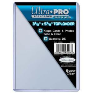 Toploaders, 3-1/2 x 5-1/8 (8.89 x 13.0175cm), 25-pack