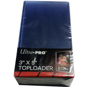 Toploaders, 3 x 5 (7.62 x 12.7cm), 25-pack