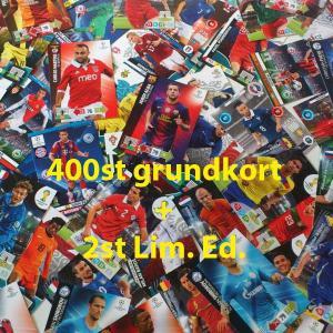 400st Blandade fotbollskort (grundkort)