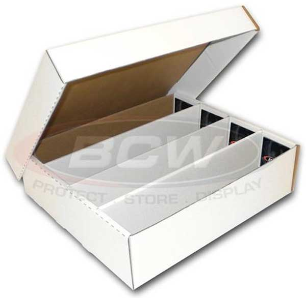 Storage Box, 3200 cards (4 Rows) / MONSTER STORAGE BOX (3,200 CT.)