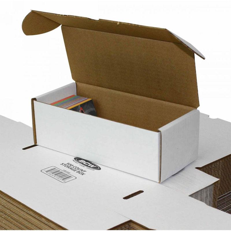 Papplåda för ca. 500 kort / 500 COUNT STORAGE BOX (Skickas endast med DHL pga storlek)
