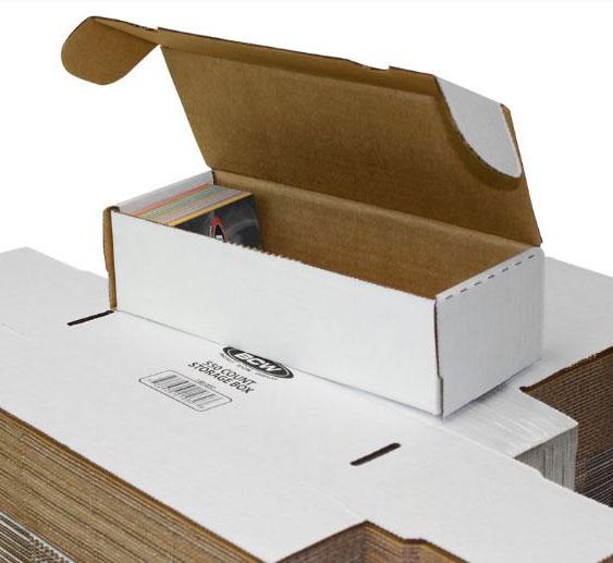 Papplåda för ca. 550 kort / 550 COUNT STORAGE BOX