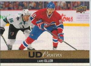 Lars Eller 2013-14 Upper Deck Canvas #C125
