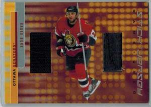 Radek Bonk 2001-02 BAP Signature Series Jersey and Stick #GSJ44