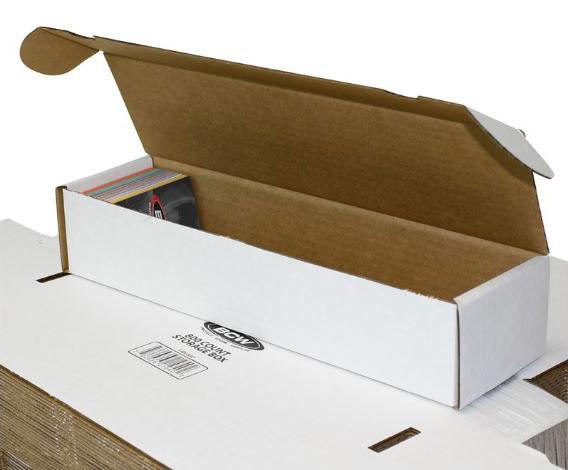 Papplåda för ca. 800 kort / 800 COUNT STORAGE BOX