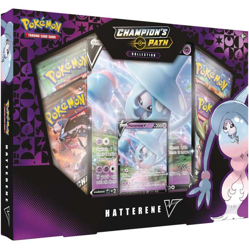 Pokémon, Champion's Path, Hatterene V Collection