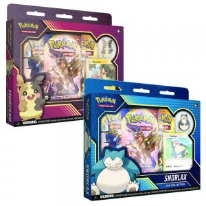 Pokémon, Pin Collection 2020 x 2 (Snorlax + Morpeko)