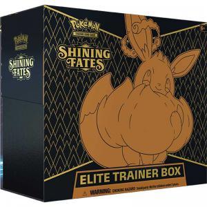 FÖRHANDSVISNING: Pokémon, Shining Fates Elite Trainer Box (Börjar säljas när mer info finns)
