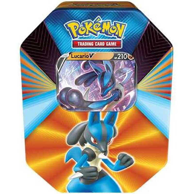 Pokémon, V Forces Spring 2021 Tin: Lucario V