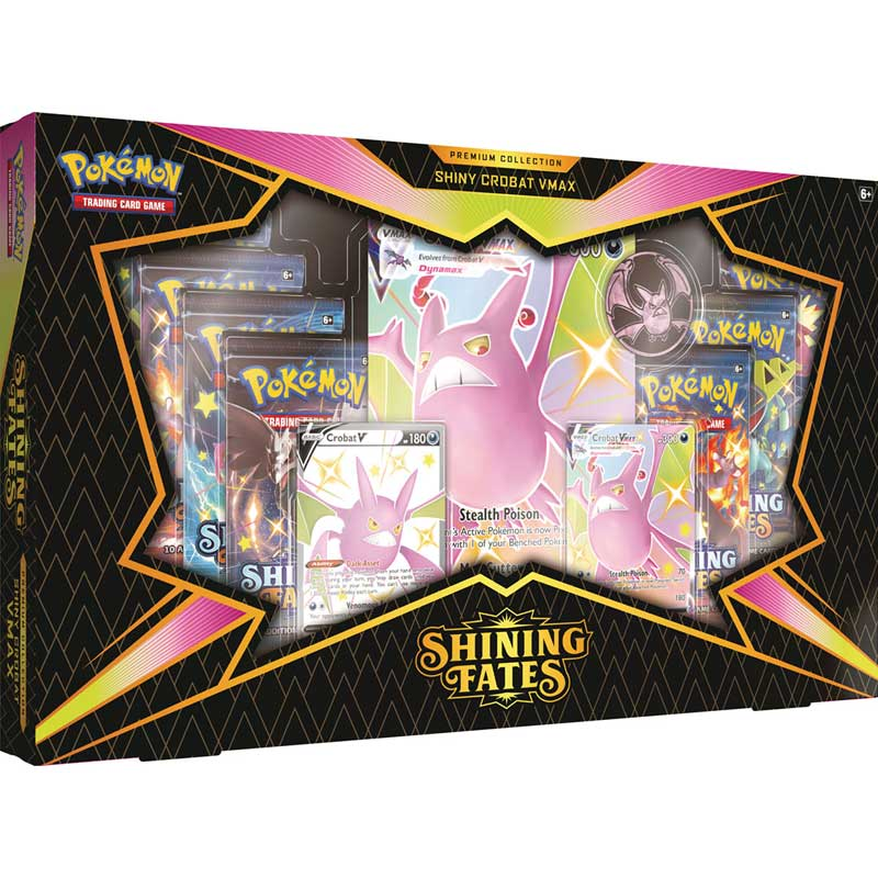 Pokémon, Shining Fates, Premium Box: Shiny Crobat