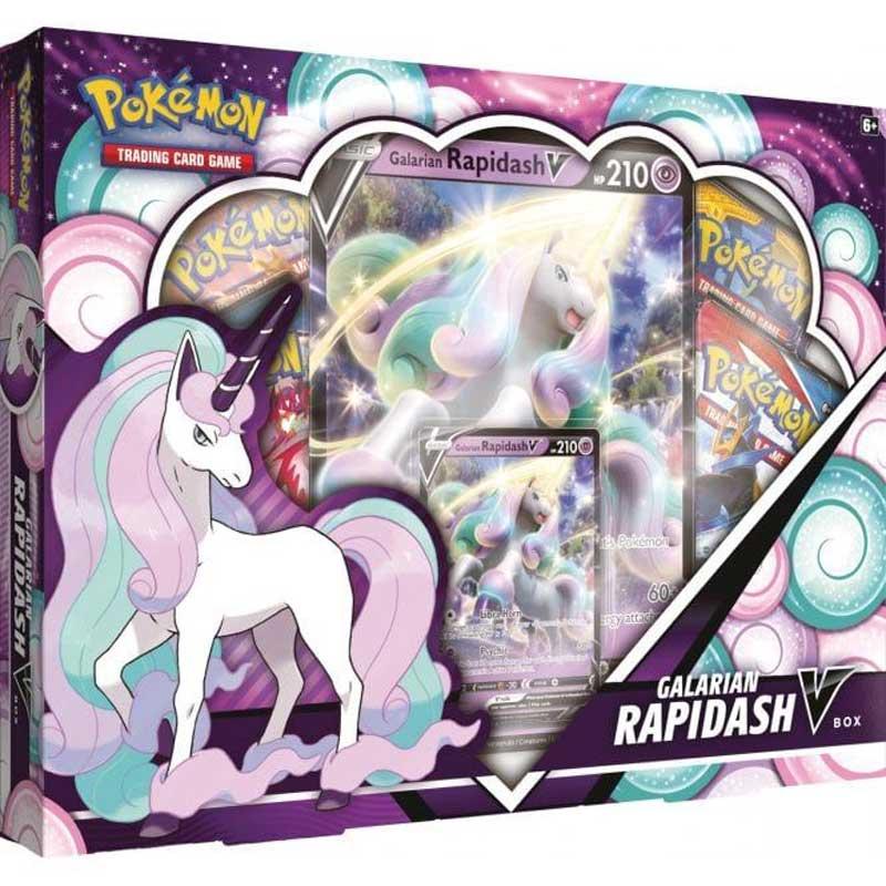 Pokémon, Galarian Rapidash V Box