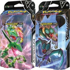 Pokémon, V Battle Deck x 2 (Rayquaza V & Noivern V i separata förpackningar)